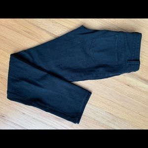 Black 'jean' stretchy pant